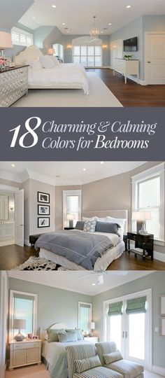 In picking the color palette we want for the bedroom, or any room in the house for that matter, we usually go with two things - our gut or our favorite col