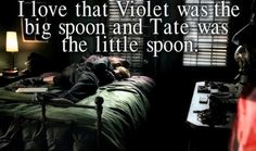 American Horror Story :) Tate Langdon and Violet <3 @Jaclyn Booton Booton Williams