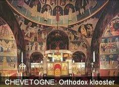 De abdij van Chevetogne, in 1925 gesticht door Lambert Beauduin. De monniken zijn benedictijnen, maar de helft leeft volgens de Byzantijnse ritus en de andere helft volgt de Latijnse ritus. Ze bouwden zowel een Byzantijnse als een Latijnse kerk. Beide groepen nemen deel aan elkaars vieringen. Ooit kwam ik er met een vriend en heb er dierbare herinneringen aan. De monikken zijn bekend omwille van hun prachtige koorzangen...een aanrader! Ardennes, Carousel, Fair Grounds, Icons, Art, Arquitetura, Byzantine, Barn, Belgium