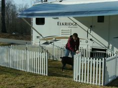 We found portable RV fencing by Picket Play Fencing. Has anyone tried this product? #RVing #RVLife