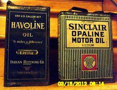 Gallon Oil Cans