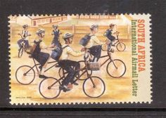 South Africa 2006 Velo Mondial Conference Bicycles MNH SG 1582 Single | eBay