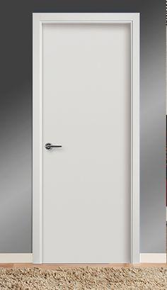 Puertas castalla quevedopuerta de interior blanca for Puertas lisas baratas