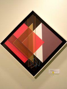 Octavio Herrera 'Relief Ligne Descriptive Bleu Ocre', 2008, MADI Art Museum and Gallery, Dallas