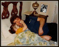 Elvis with Lisa Marie