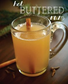hot buttered rum cocktail recipe