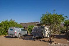 Palmwag Campsite, an oasis in Kunene, Namibia