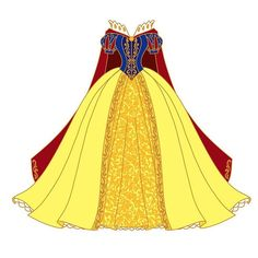 Drumroll please! Next in our royal closet series is this beautiful Snow White dress! I am so in love with this beautiful art by… Snow White Outfits, Snow White Dresses, Snow Outfit, Winter Outfits, Snow White Art, Snow White Disney, Robes Disney, Disney Costumes, Disney Princess Dresses