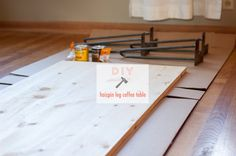 {diy} hairpin leg coffee table. » hk in love.
