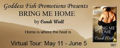 Bring Him Home by Candi Wall - 4 out of 5 (very good), #Contemporary #Romance, #Erotic, @Mommy_Amers , Goddess Fish Promotions  (May)