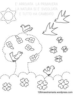 E' arrivata la primavera Easter 2020, Kids And Parenting, Embroidery Patterns, Origami, Dads, Flashcard, Christian, Education, School
