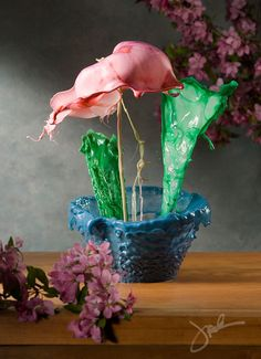 High Speed Liquid Flowers by Jack Long   DeMilked. possibly the coolest thing ever
