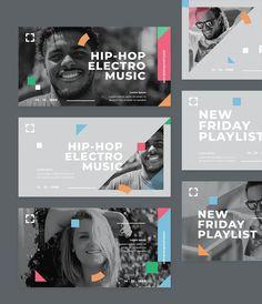 Music Facebook Ad Banner Templates PSD, AI, EPS Facebook Ad Template, Electro Music, Banner Template, Lorem Ipsum, Hip Hop, Ads, Templates, Movie Posters, Musica