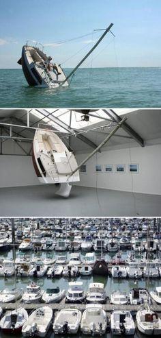 sinking boat!??