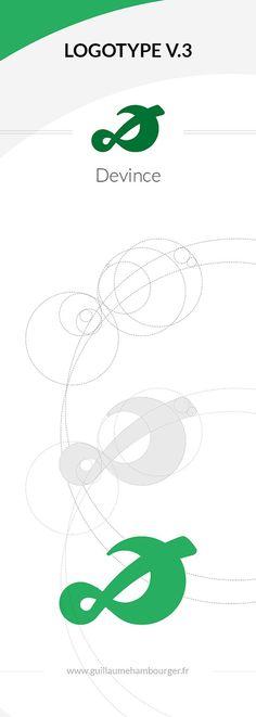 Nouvelle version de mon Logotype   #logotype #devince #flat  @Guillaume Pauwels Pauwels Devince