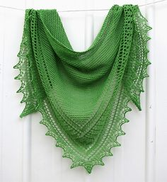 Brandywine Shawl - A Finished Knit