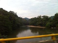 Cruzando Rios...paisajes hermosos.