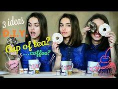 DIY: 3 ИДЕИ ДЕКОРА КРУЖЕК СВОИМИ РУКАМИ. 3 DIY mugs Decor ideas you NEED to try!