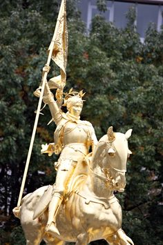 Joan of Arc Statue, Phillie, another in Paris