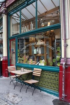 Paul Patisserie (a bakery specializing in sweets) - many locations in Paris