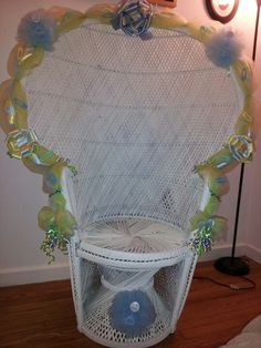 My 1st Baby Shower Chair.