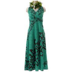 ハワイアンドレス フラダンス衣装 ホルターネックワンピース                                                                                                                                                                                 もっと見る