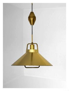 Vintage danish pendant lamp from Lyfa by Fritz by VintageDK, €185.00