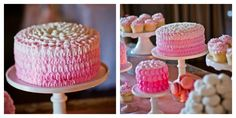 Deliciously Darling   Pink Dessert Table   Wedding Dessert Table #desserts #wedding