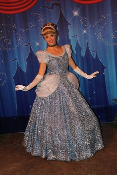 Fantasmic! Special Event by Loren Javier, via Flickr. Wow, what is this dress? It's channelling its inner disco ball.