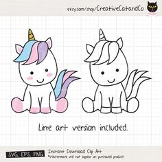 drawings unicorn Cute Baby Unicorn SVG EPS Files for Cricut or Silhouette Little Unicorn svg Unicorn Stencil Baby Unicorn Line Art svg eps Cut File Clipart Unicorn Stencil, Unicorn Drawing, Unicorn Art, Cute Unicorn, How To Draw Unicorn, Clipart, Homemade Business, Little Unicorn, Simple Doodles