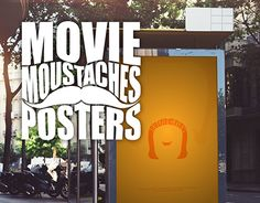 "Check out new work on my @Behance portfolio: ""Movie Moustaches Posters"" http://be.net/gallery/37412909/Movie-Moustaches-Posters"