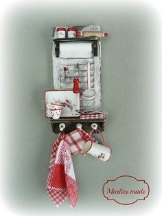 Kitchen Rack in 112 scale by marliesmade on Etsy, €34.50