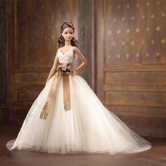 AmazonSmile: Barbie Designer Collection - Monique Lhuillier Bride Barbie Doll: Toys & Games
