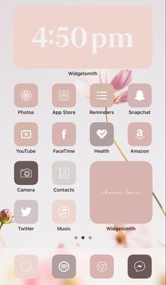 Iphone Wallpaper App, App Iphone, Iphone Icon, Ios Phone, Apps For Iphone, Iphone Design, Ios Design, Iphone Home Screen Layout, Iphone App Layout
