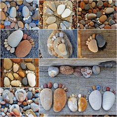 How to Make Creative Stone Footprints DIY Ideas