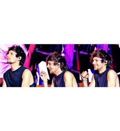 I love when I see Louis laughing. It's one of the best things in my life. :)