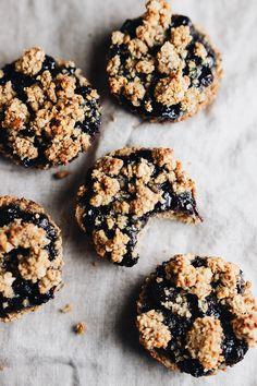 Healthy Breakfast Mini Pies that are refined sugar free + SO yummy!