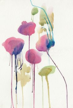 by Holly Sharpe (orignal watercolor available for £40.00)