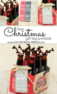 This is a fantastic neighbor gift idea with a free printable tag. #freeprintable #neighborgift