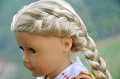 French Braided American Girl Caroline Abbott by AGOverseasFan via Doll Diaries