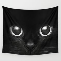 Buy Black Cat Wall Tapestry by Maioriz Home. Worldwide shipping available at Society6.com. Just one of millions of high quality products available.