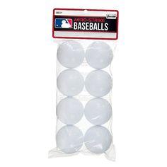 Franklin Aero-Strike Plastic Baseballs, Multicolor