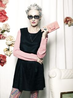 Linda Rodin hasn't wore make-up since she was 30 years old. Lipstick is her signature mark.