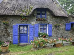 Very whimsical, I imagine I would have to be the size of a gnome to live in this cottage