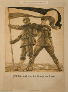 Examples of Propaganda from WW1 | German WW1 Propaganda Posters Page 17