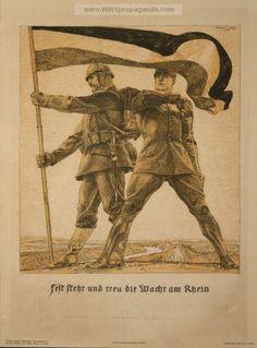 Examples of Propaganda from WW1 | German WW1 Propaganda Posters Page 17