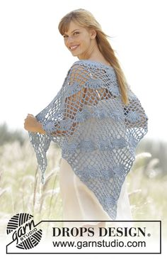West Wittering by DROPS Design. Free #crochet pattern