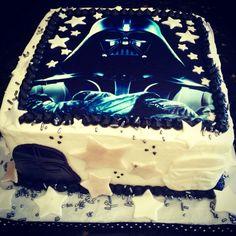 Darth Vader themed Happy Birthday Cake