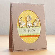 Bunny Friends Easter Card | Flickr - Photo Sharing!