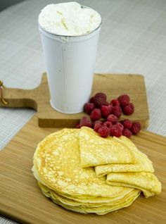 Basic All-Purpose Ricotta Crepes / @DJ Foodie / DJFoodie.com